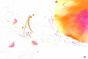 夢ロゴアート「さくらさく」