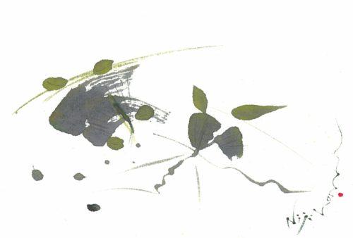 夢ロゴアート「黄葉」