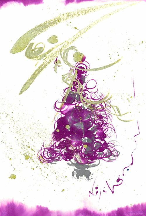 夢ロゴアート「聖夜」