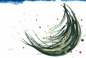 夢ロゴアート「月のツリー」