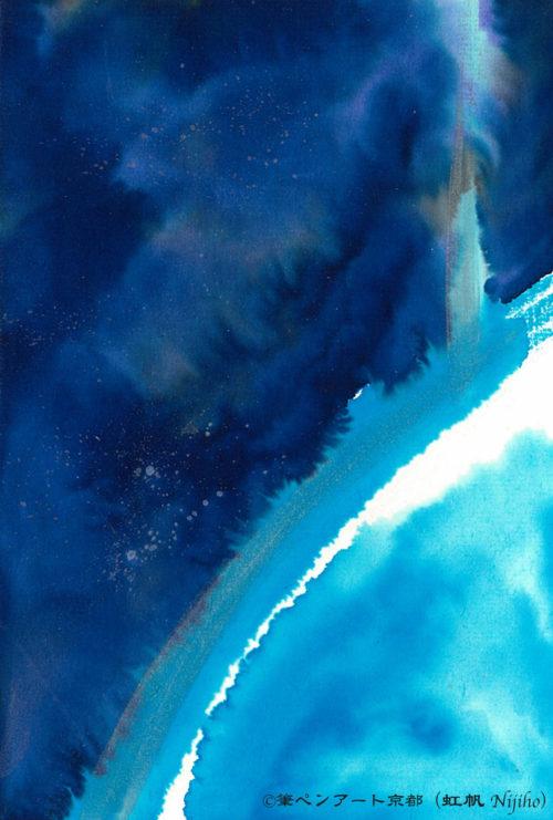 夢ロゴアート「空 — 成層圏を超えて —」
