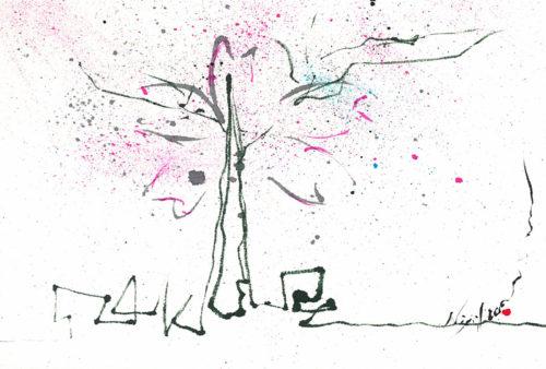 夢ロゴアート「桜SAKURA」