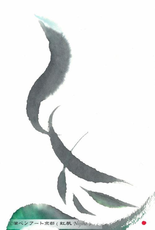 夢ロゴアート「白たへ」