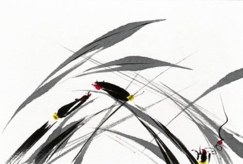 夢ロゴアート「夏 — 蛍 —」